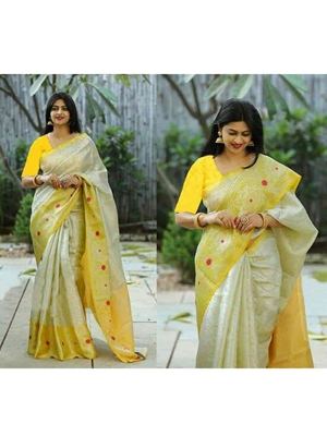 Picture of Exclusive Lichi Silk Saree Collection