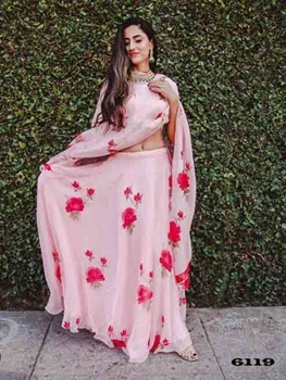 Picture of 6119 Georgette Lehenga Choli Collection