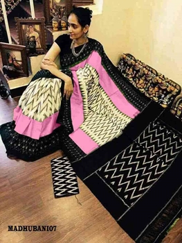 Picture of Handloom Madhubani Digital Printed Saree Collection