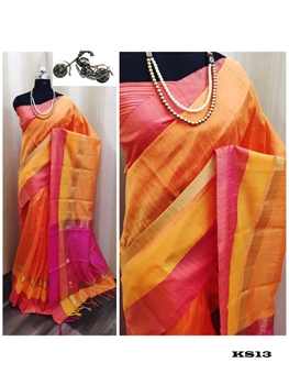 Picture of Khadi Cotton  Silk Saree Collection