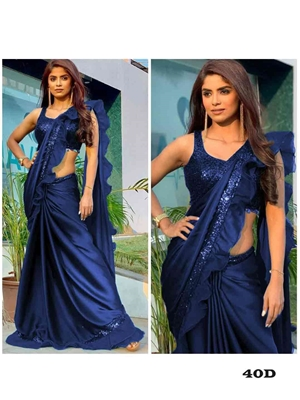 Picture of Designer Party Wear Saree Collection