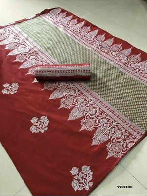 Picture of 7011B Shakuntala Silk Saree Collection