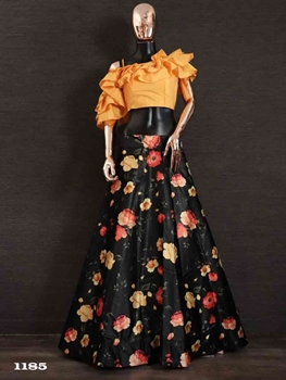 Picture of 1185 Crop Top Lehenga Collection