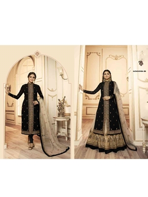 Picture of 45008B Designer Sharara Suit Collection