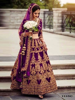 Picture of 1115C Wedding Lehenga Choli Collection
