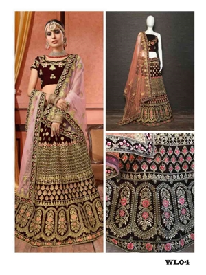 Picture of Wedding Lehenga Choli Collection