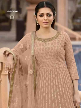 Picture of 3806E Georgette Anarkali Suit