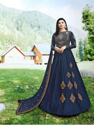 Picture of 8075 Designer Anarkali Suit Collection