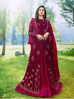 Picture of 8071 Designer Anarkali Suit Collection