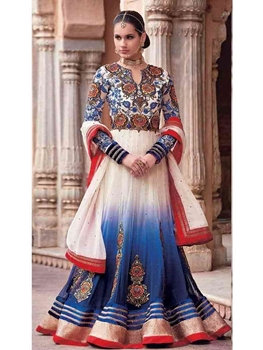 Picture of Georgette Anarkali Suit Collection