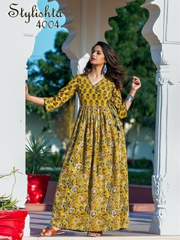 Picture of 4004Stylishta  Designer Gown Collection