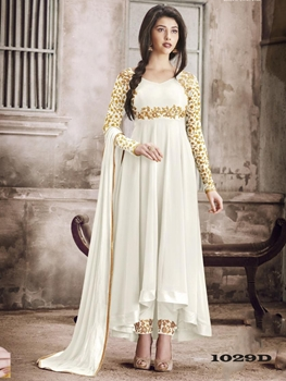 Picture of 1029D Designer Georgette Anarkali Suit