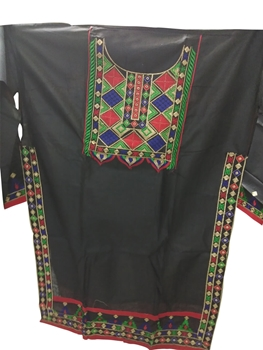 Picture of Black Designer Salwar Replica Suit