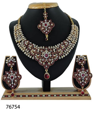 Picture of 76754 Imitation Jewellery Nacklace Set