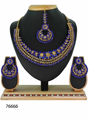 Picture of 76666 Imitation Jewellery Heavy Necklace Set