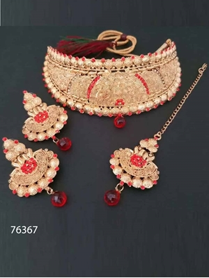 Picture of 76367 Heavy Imitation Jewellery Necklace Set