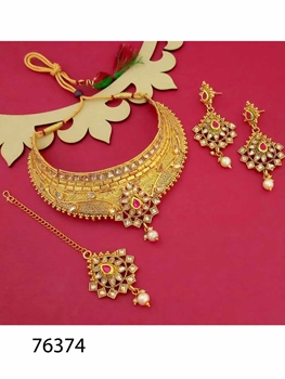 Picture of 76374 Imitation Jewellery Necklace Set
