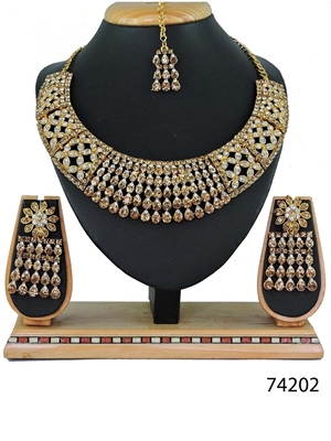 Picture of 74202 Imitation Jewellery Bridal Nacklace Set