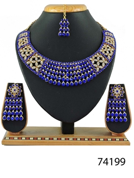 Picture of 74199 Imitation Jewellery Bridal Nacklace Set