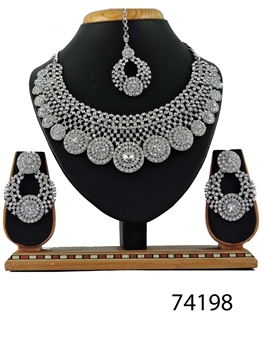 Picture of 74198 Imitation Jewellery Bridal Nacklace Set