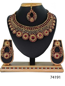 Picture of 74191 Imitation Jewellery Bridal Nacklace Set