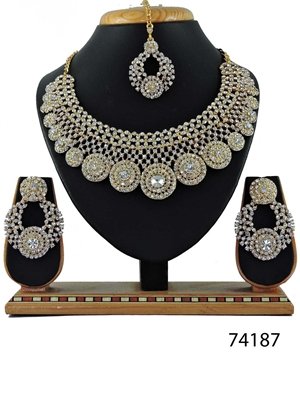 Picture of 74187 Imitation Jewellery Bridal Nacklace Set