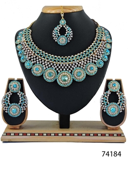 Picture of 74184 Imitation Jewellery Bridal Nacklace Set