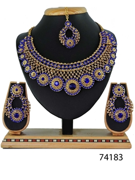 Picture of 74183 Imitation Jewellery Bridal Nacklace Set