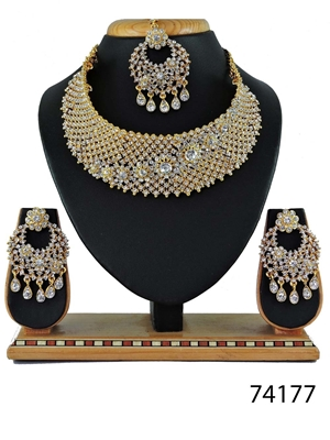 Picture of 74177 Imitation Jewellery Bridal Nacklace Set