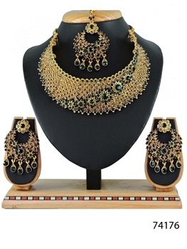 Picture of 74176 Imitation Jewellery Bridal Nacklace Set