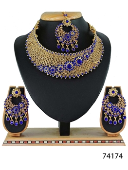 Picture of 74174 Imitation Jewellery Bridal Nacklace Set