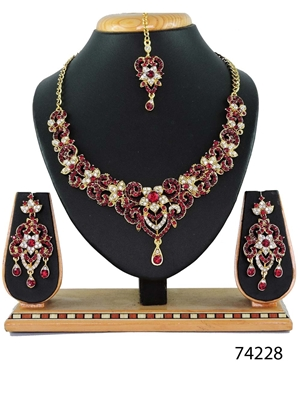 Picture of 74228 Imitation Jewellery Bridal Nacklace Set