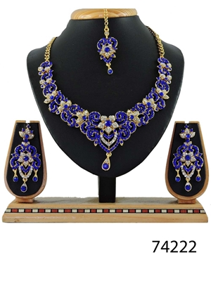Picture of 74222 Imitation Jewellery Bridal Nacklace Set