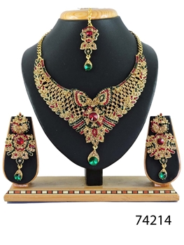 Picture of 74214 Imitation Jewellery Bridal Nacklace Set
