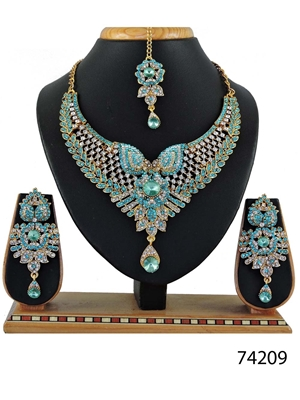 Picture of 74209 Imitation Jewellery Bridal Nacklace Set