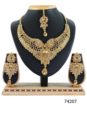 Picture of 74207 Imitation Jewellery Bridal Nacklace Set