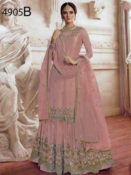 Picture of 4905B Designer Sharara Suit