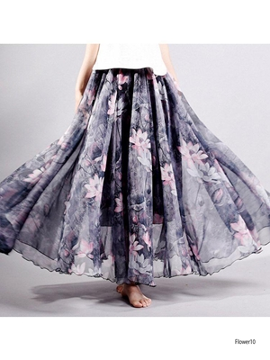 Picture of Flower10 Imported Soft  Skirt