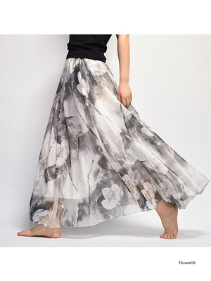 Picture of Flower09 Imported Soft  Skirt
