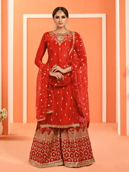 Picture of 4006 Sharara Suit Bridal Wear