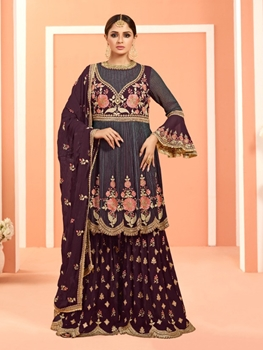 Picture of 4003 Sharara Suit Bridal Wear