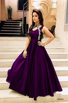Picture of Taffeta Shartin Designer Gown