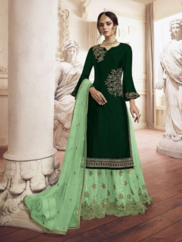Picture of Designer Rangoli Plazo Suit Collection
