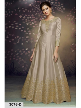 Picture of 3076D Designer Party Wear Gown Style