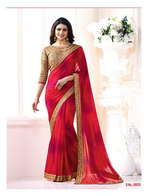 Picture of SHEESHA18070 Georgette Saree