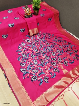 Picture of SARATHI04 Soft Banarasi Silk Saree Collection