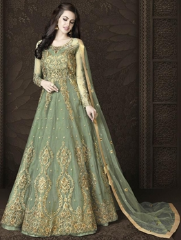 Picture of 4554A Designer Heavy Anarkali Suit