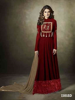 Picture of 7079B Designer Anarkali Suit