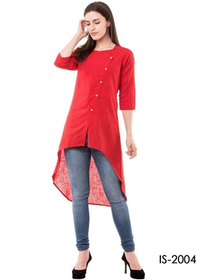Picture of IS2004 Western Cotton Kurti