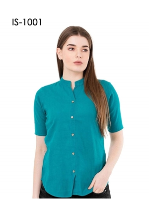 Picture of IS1001 Western Cotton Shirt Type Top